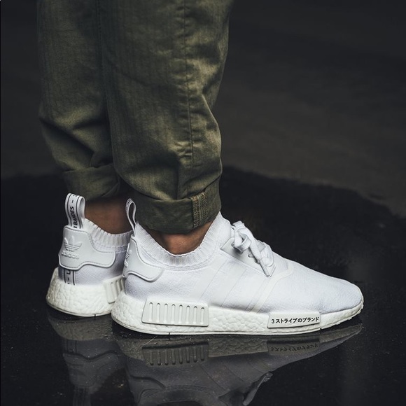 Adidas Shoes Nmd R1 Japan Triple White Poshmark